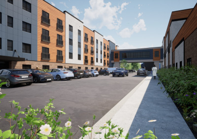 Senior Apartments at Skyview – Adaptive Reuse & New Construction